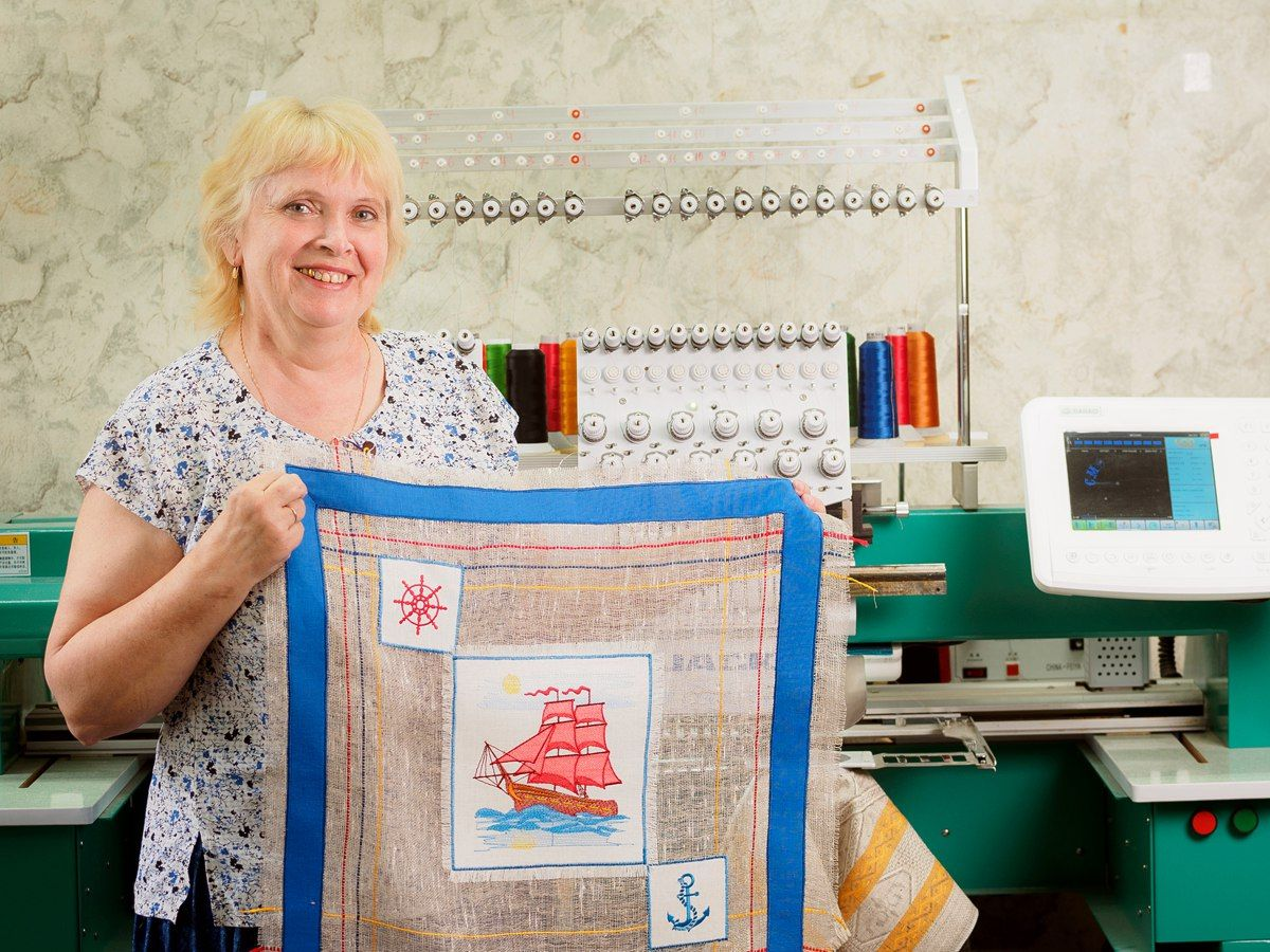 Схема вышивки на свободе